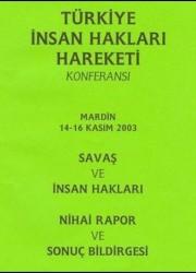 Türkiye İnsan Hakları Hareketi Konferansı – 2003