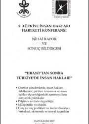 Türkiye İnsan Hakları Hareketi Konferansı – 2007
