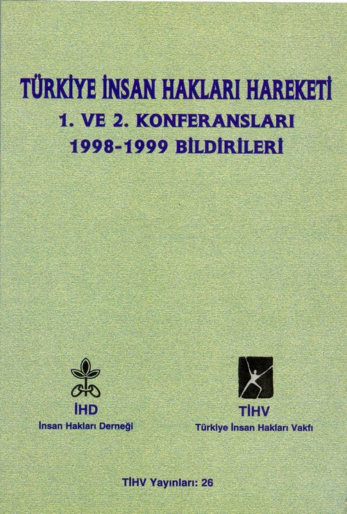 İnsan Hakları Hareketi Konferansı 1998-1999