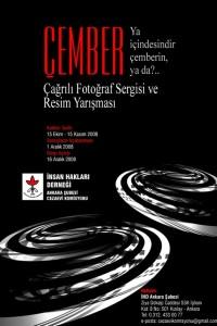 İHD Ankara Şubesi Fotoğraf ve Sergi Yarışması – Ekim 2008