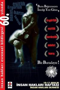 İnsan Hakları Haftası Afişi (1) 10-17 Aralık 2008
