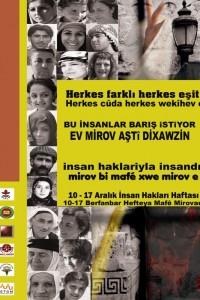 İHD Diyarbakır Şubesi 2008 İnsan Hakları Haftası Afişi 2