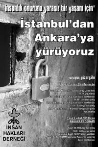 Cezaevi Yürüyüşü Afişi – Şubat 2009