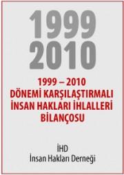 1999 – 2010 Dönemi Karşılaştırmalı İnsan Hakları İhlalleri Bilançosu
