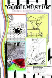 İHD Mersin Şubesi Sergi Afişi – Kasım 2010