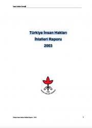 2003 İnsan Hakları İhlalleri Raporu