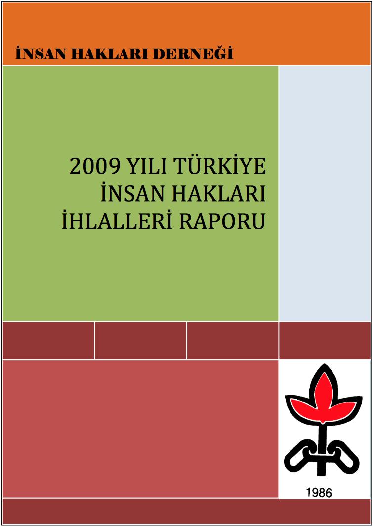 2009 İnsan Hakları İhlalleri Raporu