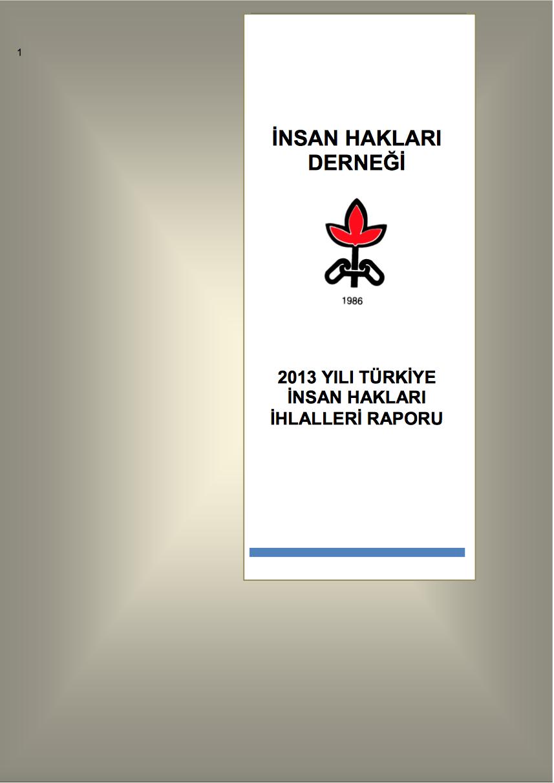 2013 İnsan Hakları İhlalleri Raporu