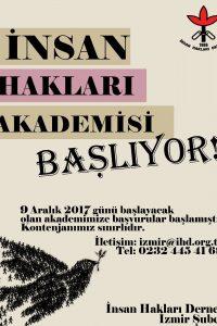 İzmir İnsan Hakları Akademisi 2017