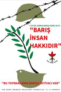 1 Eylül Barış Günü Afiş I (2018)
