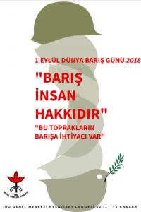 1 Eylül Barış Günü Afiş II (2018)
