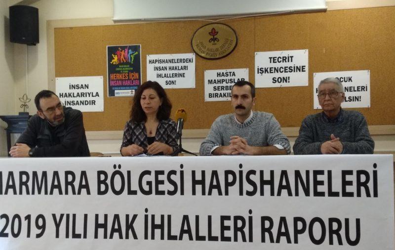 Marmara Bölgesi Hapishaneleri (Ekim – Kasım – Aralık 2019) Hak İhlalleri Raporu