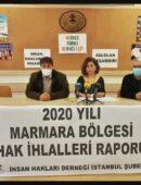 Marmara Bölgesi 2020 Yılı Hak İhlalleri Raporu